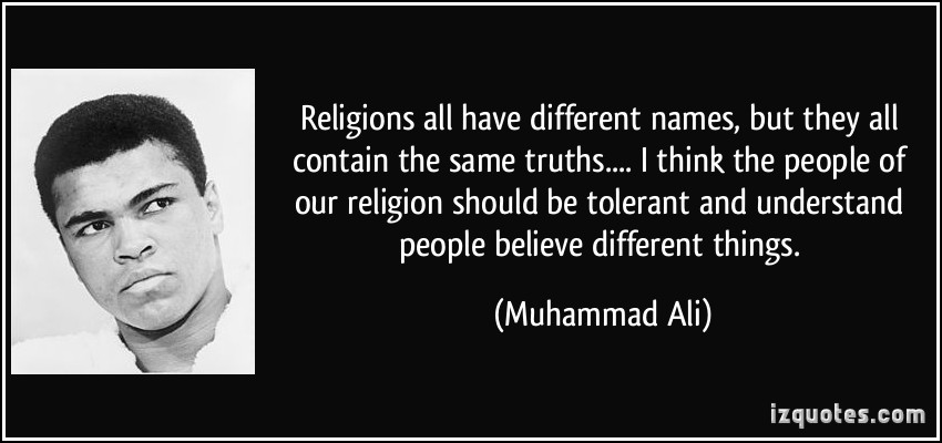 Religions: Different Names, Same Truths